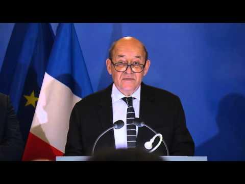 Jean-Yves Le Drian: Vœux aux forces armées