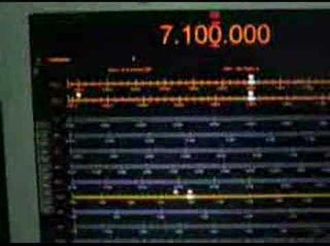 ICOM IC-R20 controlado por HamRadioDeluxe