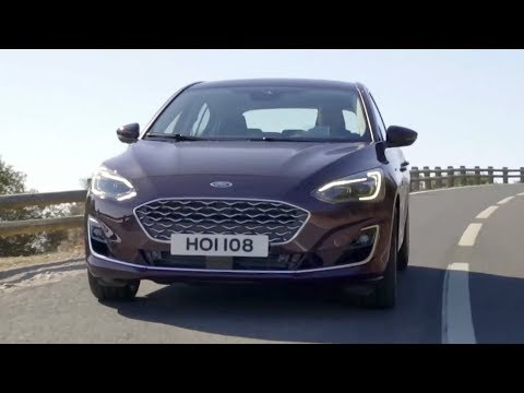 2019 Ford Focus Vignale Hatchback | Driving, Interior, Exterior