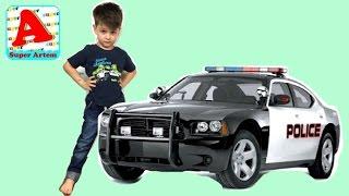 Полицейские Машинки Giant Egg Police Car Мультики про машинки