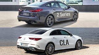 2020 BMW 2 Series Gran Coupé vs Mercedes CLA Coupé