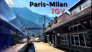 PARIS to MILAN by train: Spectacular TGV through the Alps