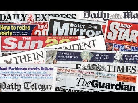 Which 5 People Own the UK Mainstream Media - YouTube