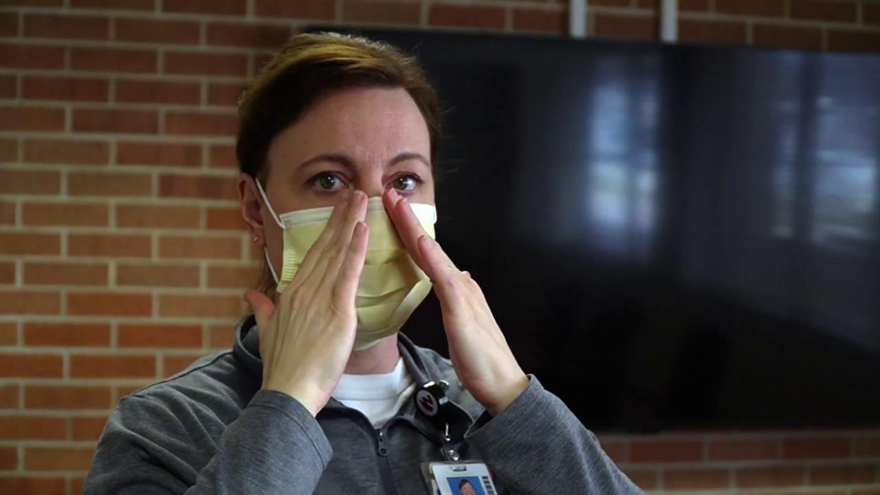 Proper Donning & Doffing of Procedural and Surgical Masks - Nebraska Medicine