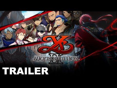 Ys IX: Monstrum Nox - Story Trailer (PS4, Nintendo Switch, PC)