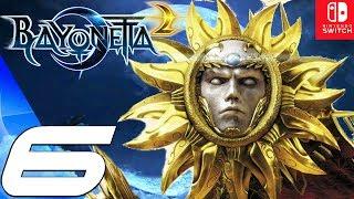 BAYONETTA 2 - Gameplay Walkthrough Part 6 - Prophet Boss Fight & Gates of Hell (Remastered) Switch