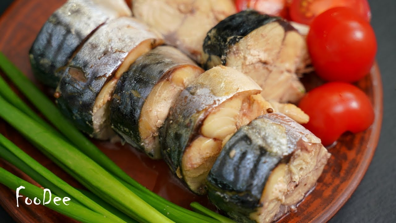 Обалденная СКУМБРИЯ! Рыба ТАЕТ во рту, даже косточки! Простой рецепт скумбрии как консервы