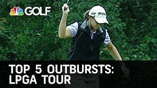 Top 5 Outbursts LPGA Tour | Golf Channel