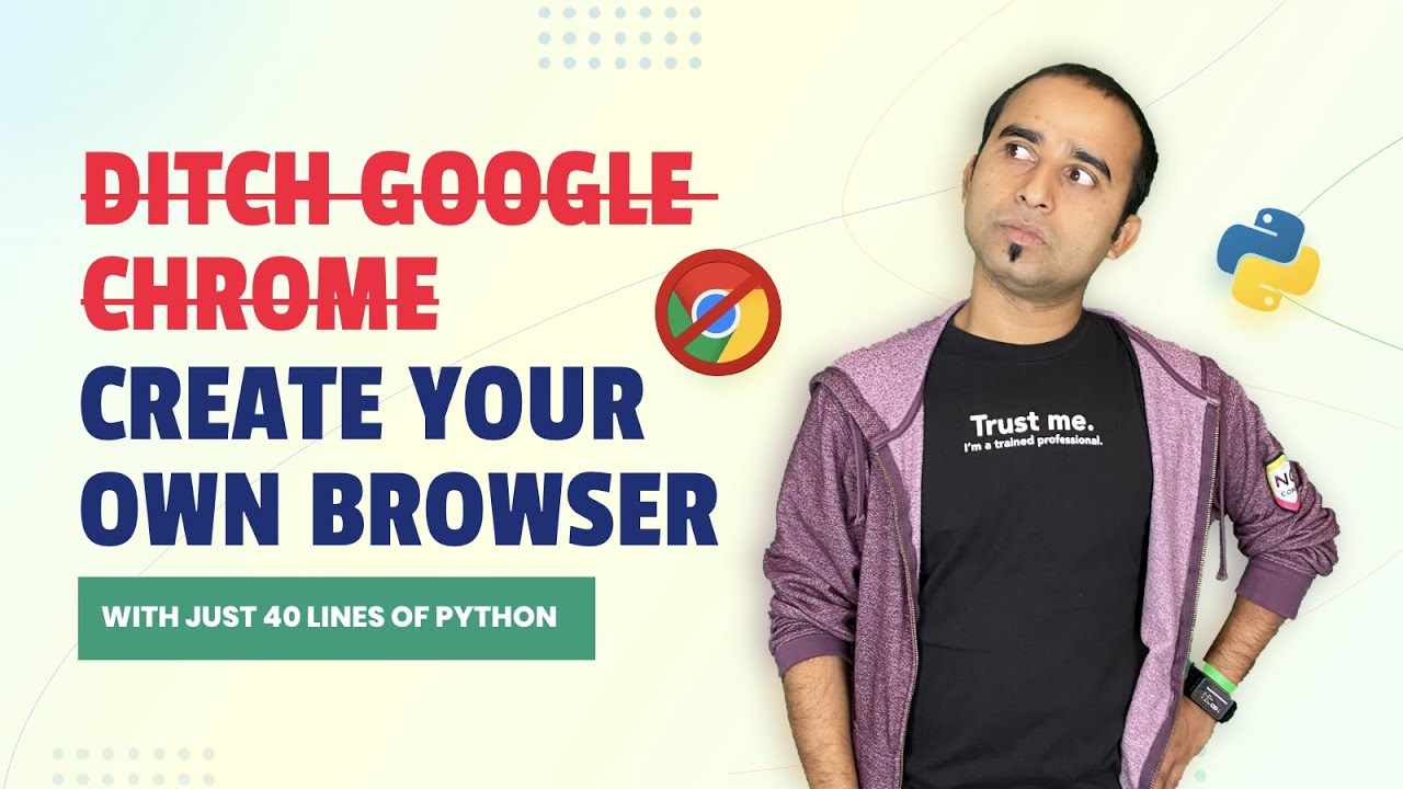 Create Your Own Browser Using Python   Python Project   PyQt5