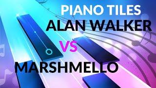 Download Marshmello vs Alan walker - Piano Tiles DJ
