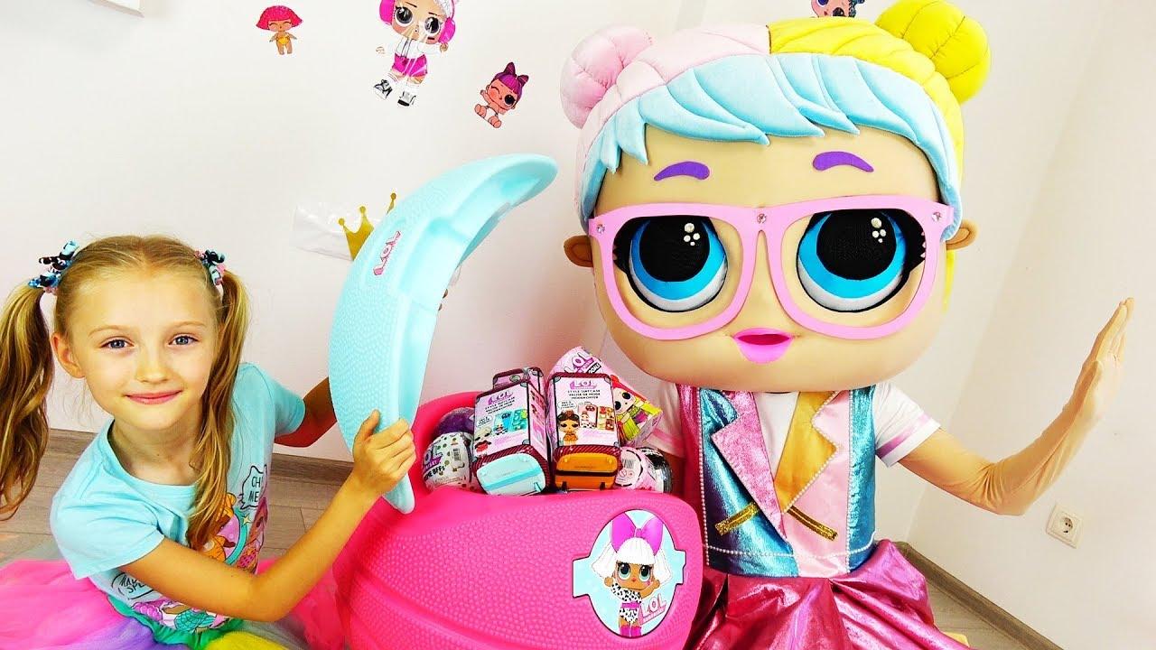 День рождения куклы лол. Игрушки  - подарки от Супер Полины.