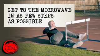 Get to the Microwave in as Few Steps as Possible | Full Task | Taskmaster