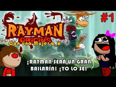 Rayman Origins   CON UNA MUJER o_o   Pervirtiendo a RAYMAN D: