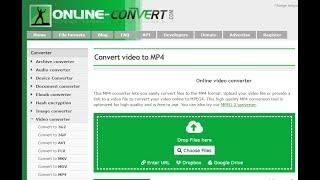 Free Online File Converter (WAV, MP3, MP4, JPG, PNG, MOV, PDF, AVI, 3GP, SVG, DOCX, BMP, GIF,  MKV)