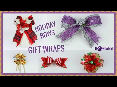 how-to-create-eight-super-easy-holiday-gift-wrap-bows