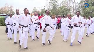 President Uhuru Kenyatta showcases his 'brilliant' Karate skills