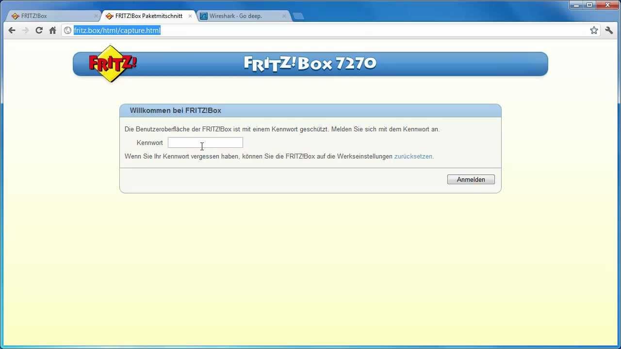Kindersicherung für fritzbox 7270