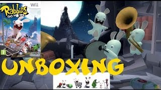 OCG Unboxing - Rabbids Go Home Wii + Extras
