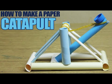 How to make a paper catapult