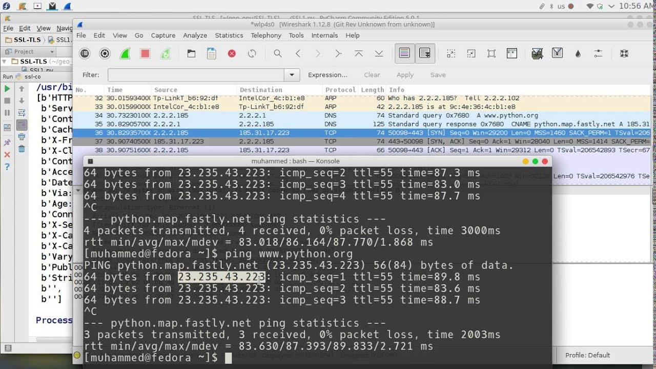 102 Python Network Programming Ssl Tls Youtube