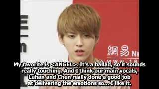 [ENG] 120413 EXO-M NetEase Interview PART 2/2
