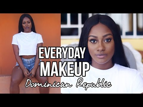 My Everyday Makeup Look While in Dominican Republic! Mi Maqu
