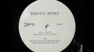 Daniel Avery - These Nights Never End (Ricardo Tobar Remix) [PH40]