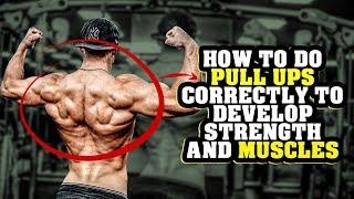 Как правильно выполнять подтягивания для развития силы и мышц