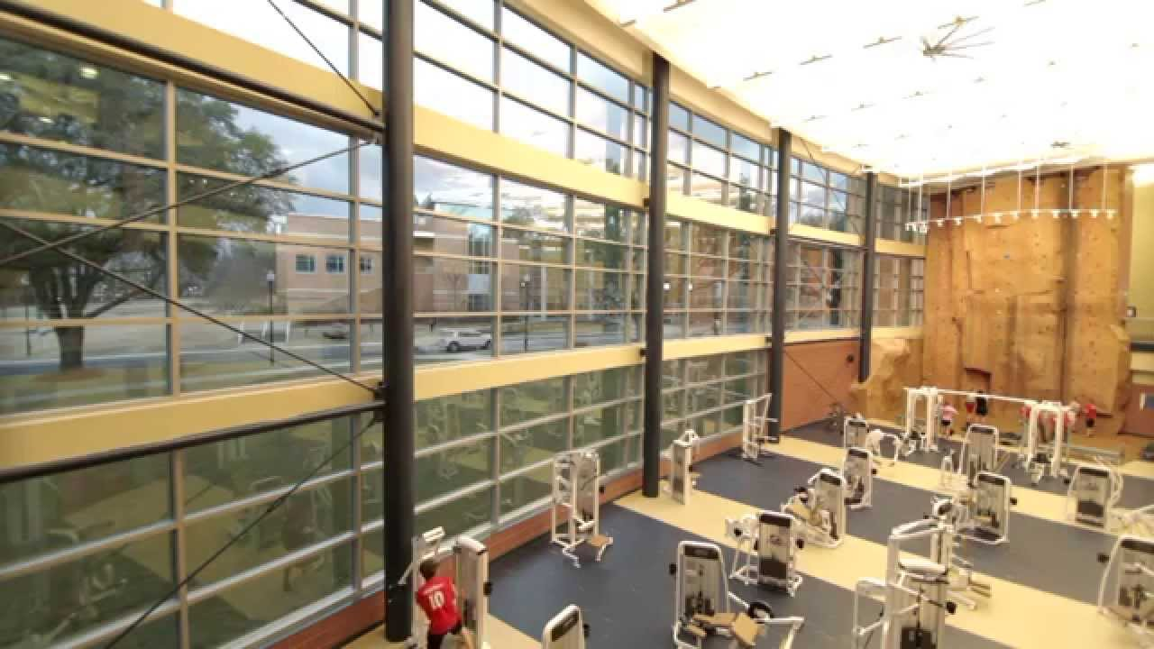 Inside the Student Recreation Center