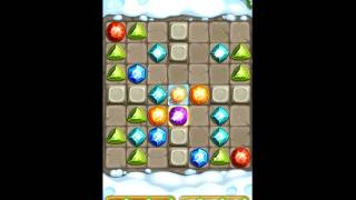 Gemcrafter: Puzzle Journey - iOS & Android Gameplay & Walkthrough for Mountains Level 37
