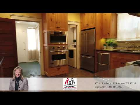 455 N  San Pedro Street San Jose, CA 95110 Presented by Cindy Hipwell