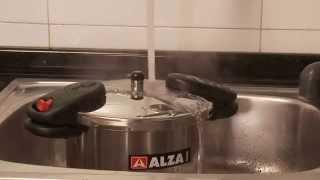 Скороварка Alza Tradicion Испания - Новинка 2015 года(Испанская посуда - Скороварки из нержавеющей стали Alza Tradicion - Новая модель с очень легкой системой открывани..., 2014-11-26T14:20:04.000Z)