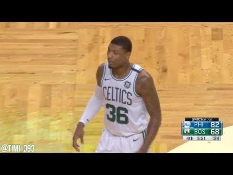 Marcus Smart Highlights vs Philadelphia 76ers (13 pts, 5 reb)