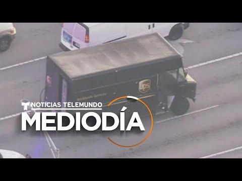 Persecución Policial Termina En Balacera En Autopista Y Dejó A 4 Muertos | Noticias Telemundo