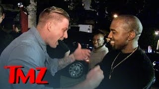 Kanye West Discovers the Next Big Rapper On the Street! Feat. Justin Bieber