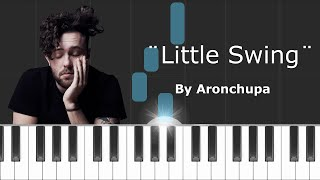 """AronChupa - """"Little Swing"""" Piano Tutorial - Chords - How To Play - Cover"""