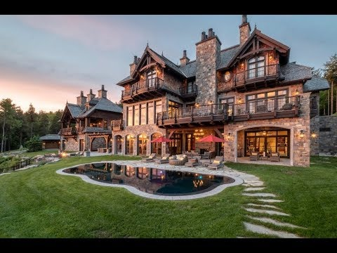 Amazing $22 Million 17,000 SQ FT 8 Bed 9 Bath Château on 5 Acres in Quebec Canada