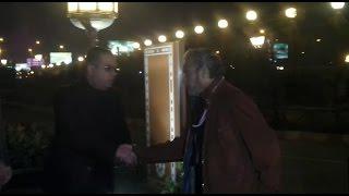 فاروق الفيشاوى و فلوكس ورجاء حسين وأحمد بدير فى عزاء أحمد راتب