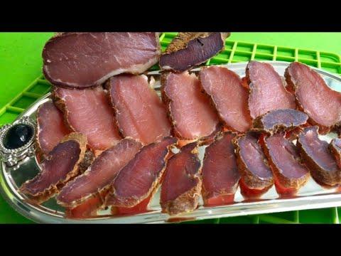 Рецепт вяленого мяса в домашних условиях ютуб 856