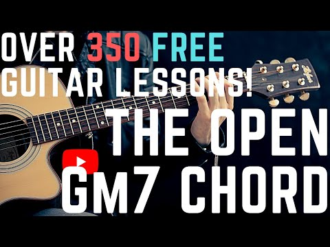 365 Guitar Lessons In 365 Days 031 The Open Gm7 Chord Youtube