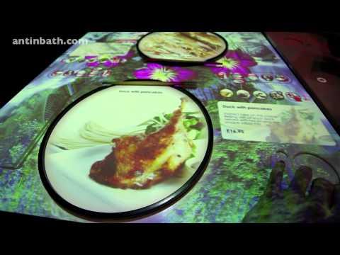 Inamo Restaurant Soho London HD Video
