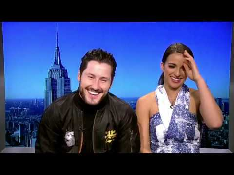 If you want to date Victoria Arlen you'll have to go through Val Chmerkovskiy