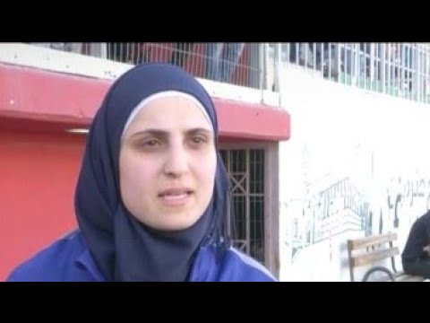 Palestinian Female Soccer Referee