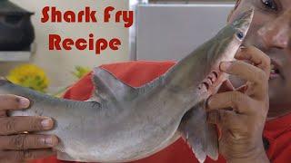 Baby Shark Fish  Catch &amp Cook Shark  Recipe - Scrambled Fish Sora Puttu  - Fish Burji  By Vahchef