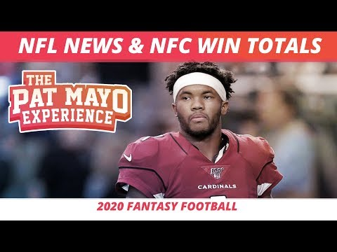 2020 NFL Free Agents, News and Trade Update, NFC Win Total Recap, Early 2020 NFL Predictions