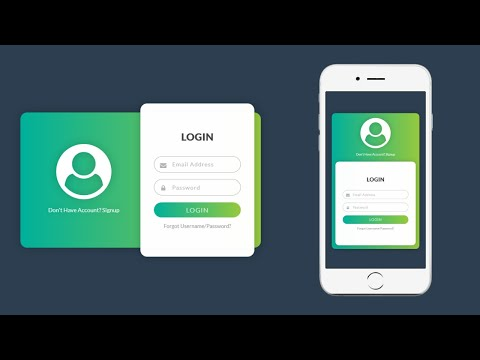 How To Create Login Form In HTML And CSS   Make Sign In Form Design
