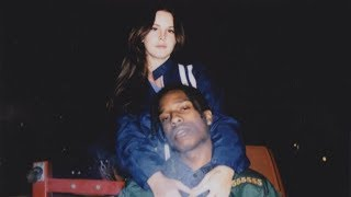 Repeat youtube video Lana Del Rey & A$AP Rocky - Salvatore (Remix)