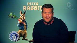 James Corden, Rose Byrne & Domhnall Gleeson Talk 'Peter Rabbit' | Studio 10