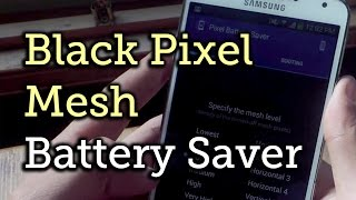 """Create a Mesh of """"Off"""" Pixels to Save Battery Life [How-To]"""