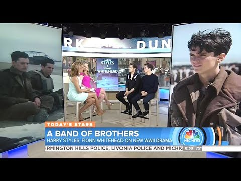 """Harry Styles & Fionn Whitehead - Chat """"Dunkirk"""" (Today Show)"""